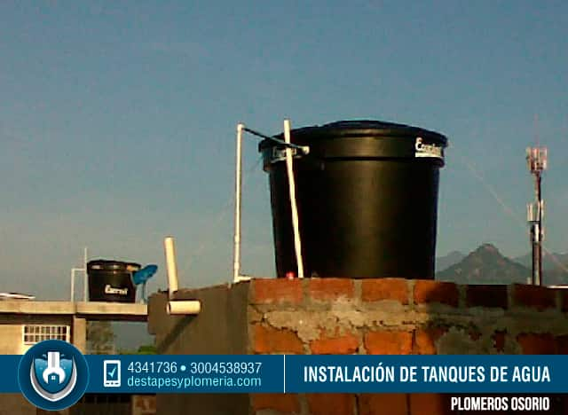 Tanques de agua potable