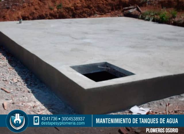 Mantenimiento de tanques de agua potable bogot servicio for Como fabricar tanques de agua para rusticos