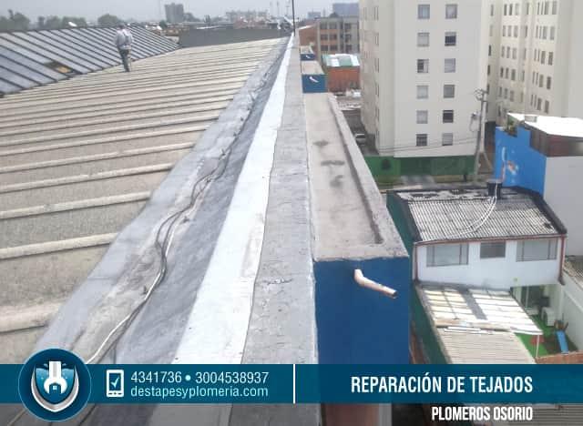 Clases de tejas para tejados best limpieza de techos de for Clases de tejas y precios