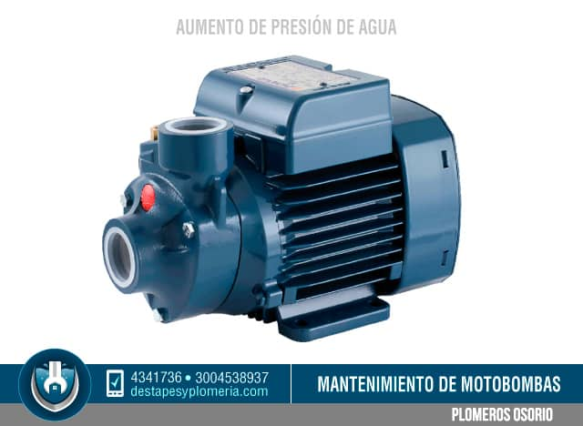 Aumento de presi n de agua potable en bogot hidroflo for Motor de presion de agua