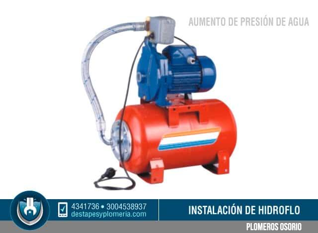 Instalaci n de hidroflo aumento de presi n de agua for Motor de presion de agua