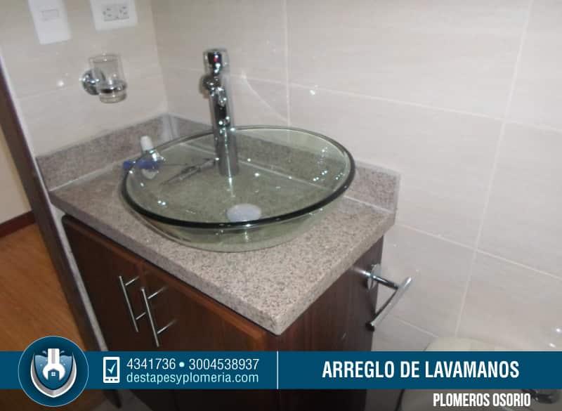 Servicio de destape de lavamanos mantenimiento e for Lavamanos sin instalacion