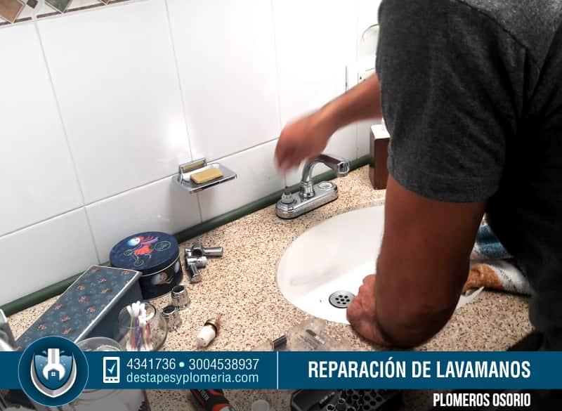 Servicio de destape de lavamanos mantenimiento e - Lavamanos sin instalacion ...