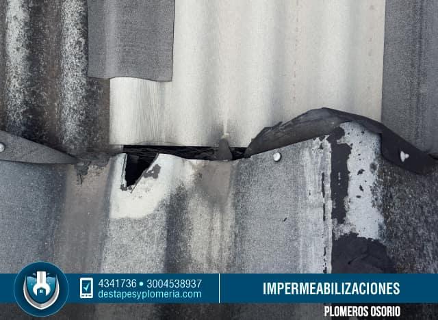 Reparaci n de tejados instalaci n y mantenimiento de cubiertas arreglo de goteras bogot - Impermeabilizacion de tejados ...